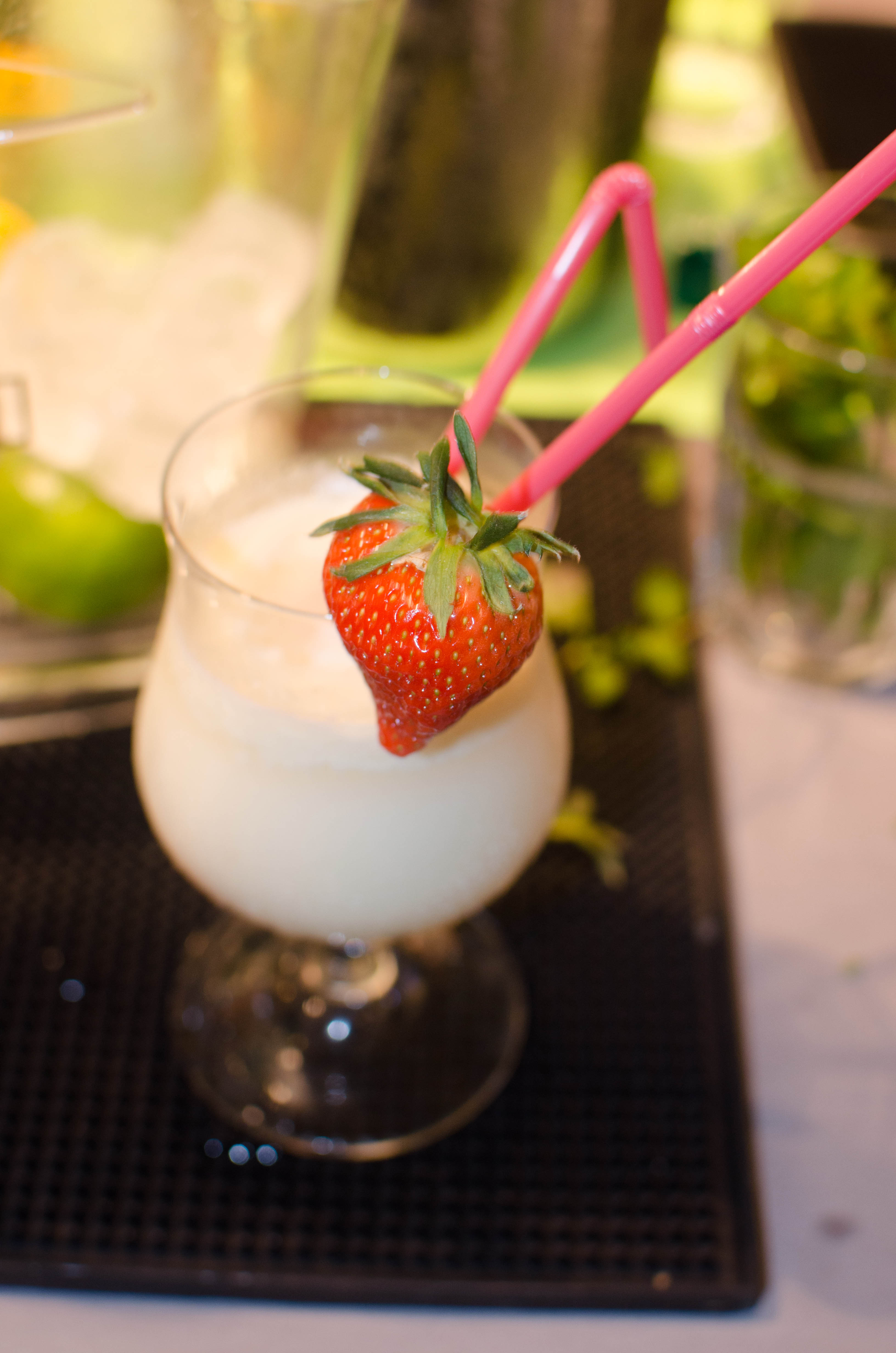 Strawberry-Rhum  cocktail