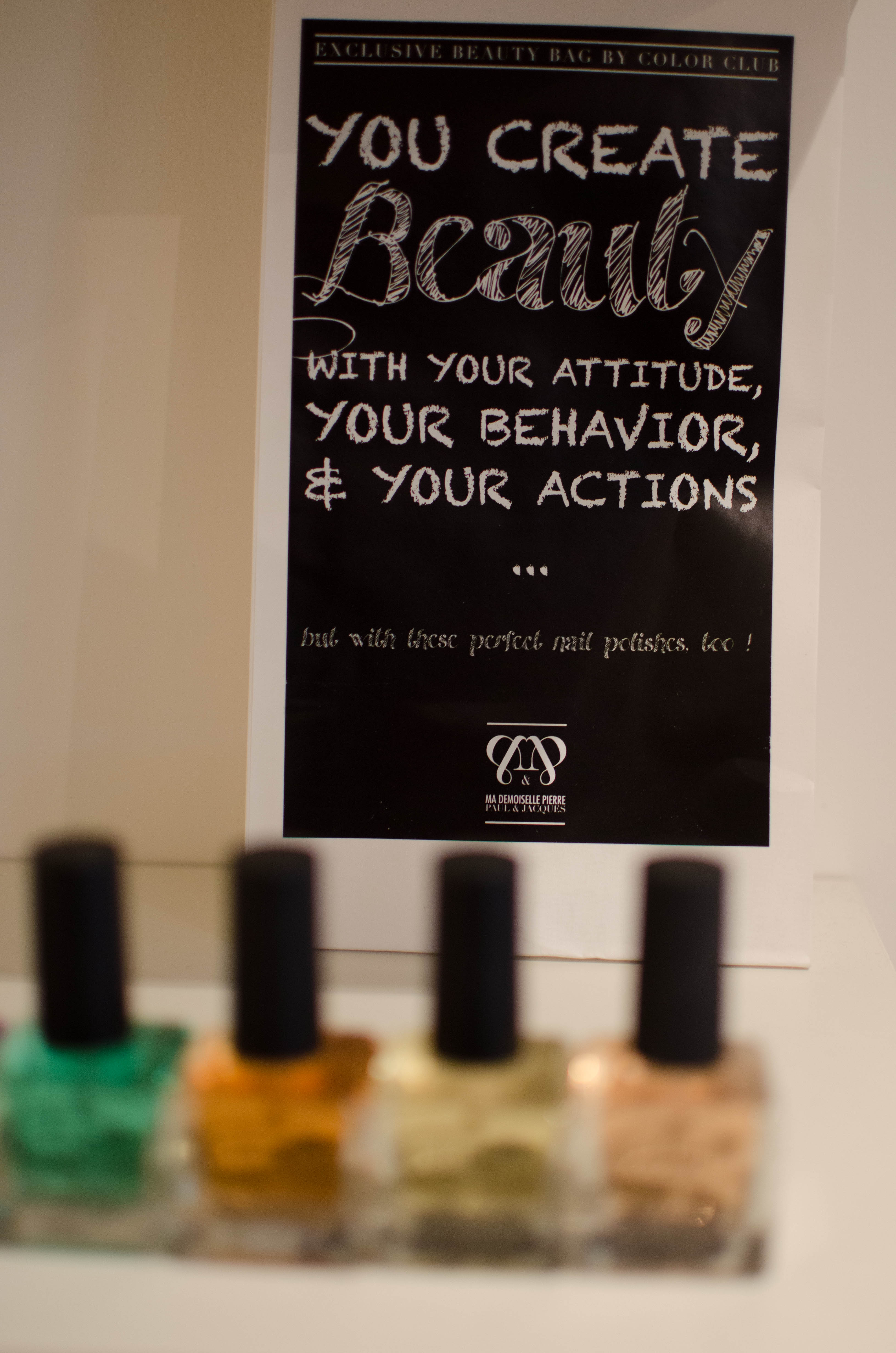 Create your beauty!