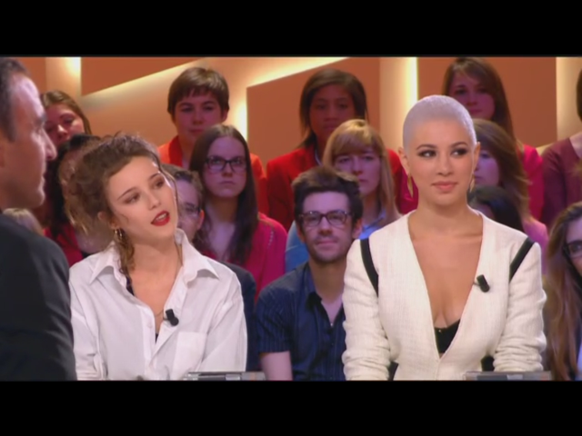Dièse et sa veste Be Jacket au Grand Journal