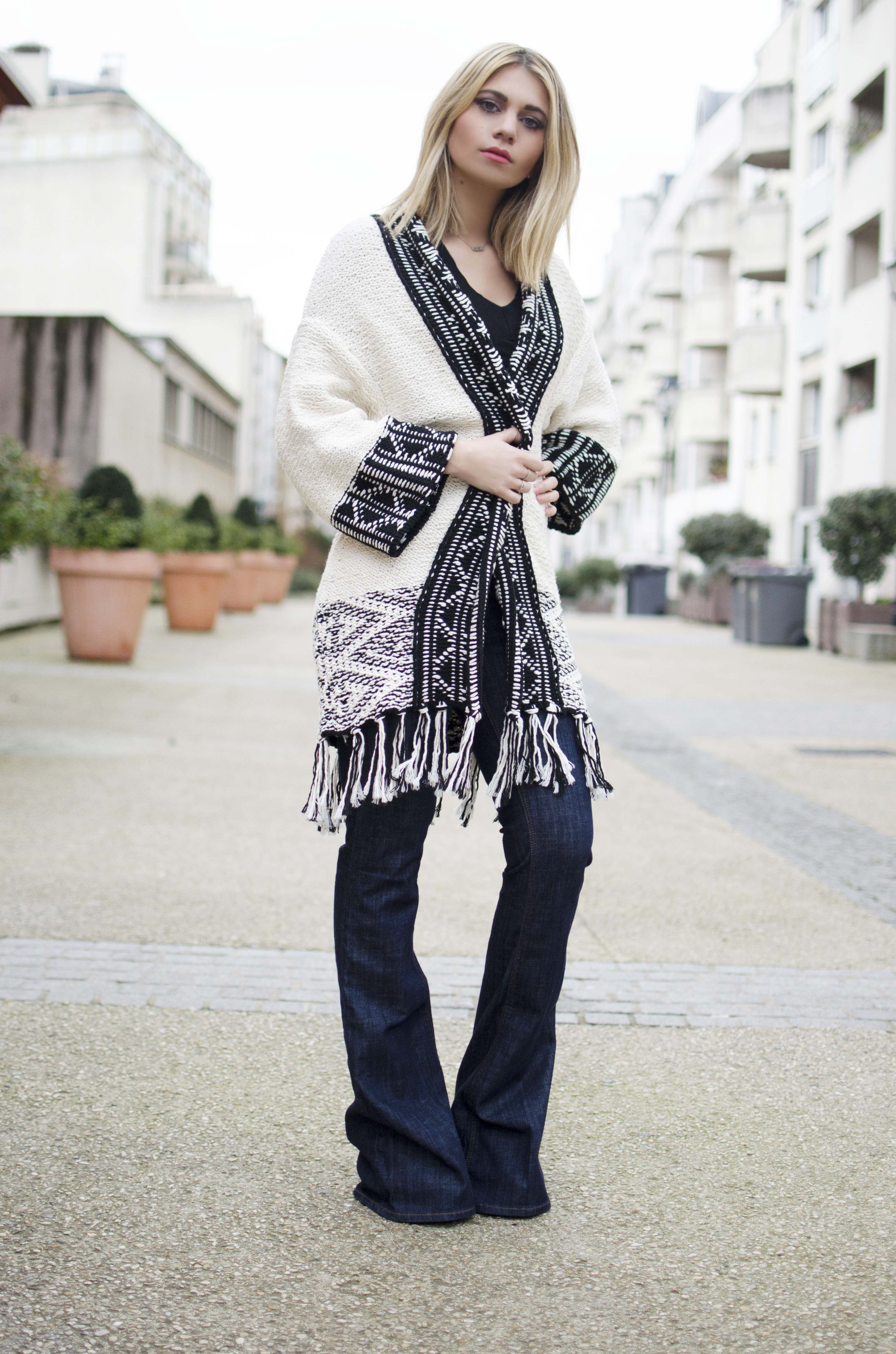 ootd blog mode zara hippie boheme
