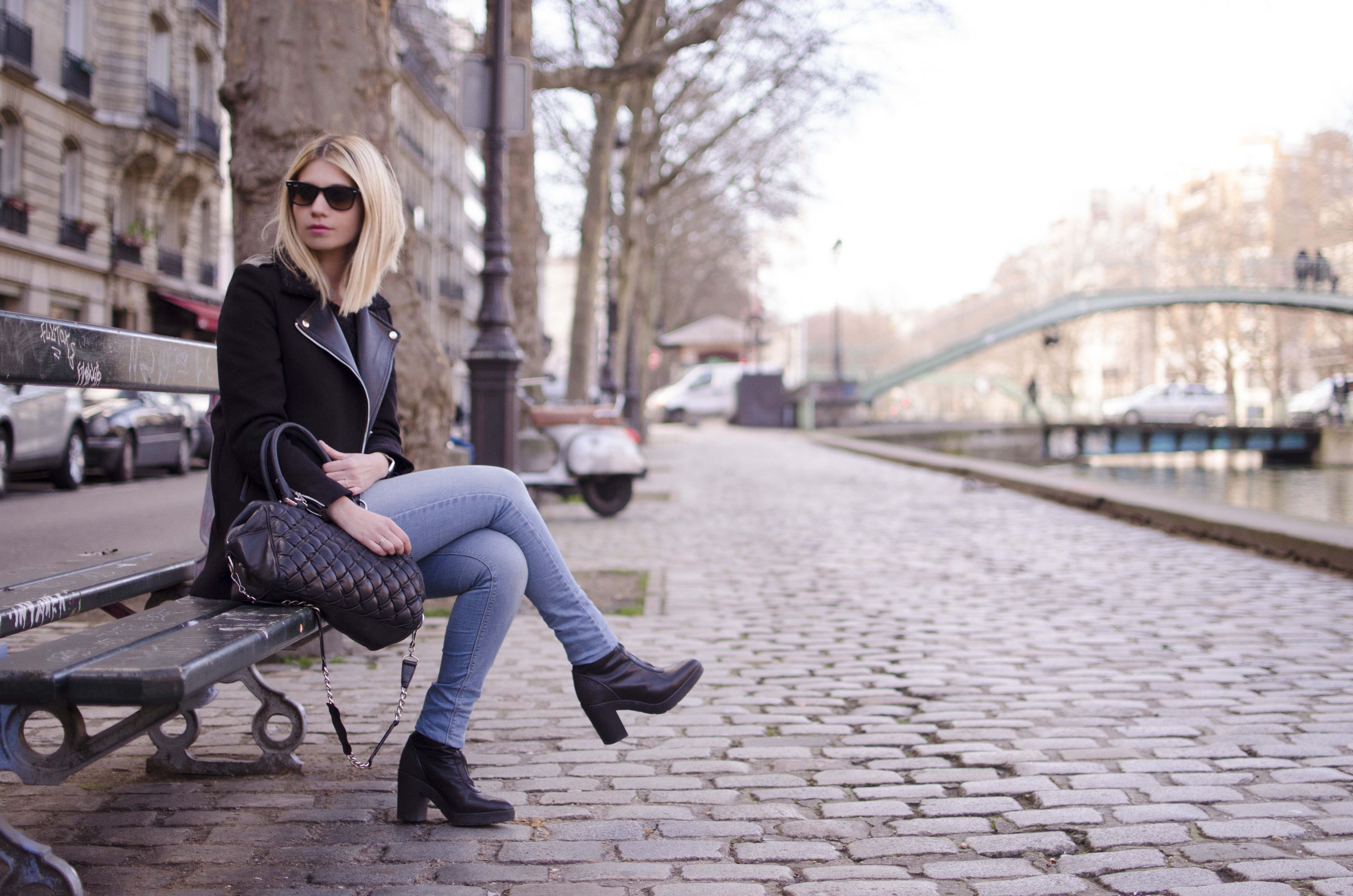 ootd paris canal saint martin blog